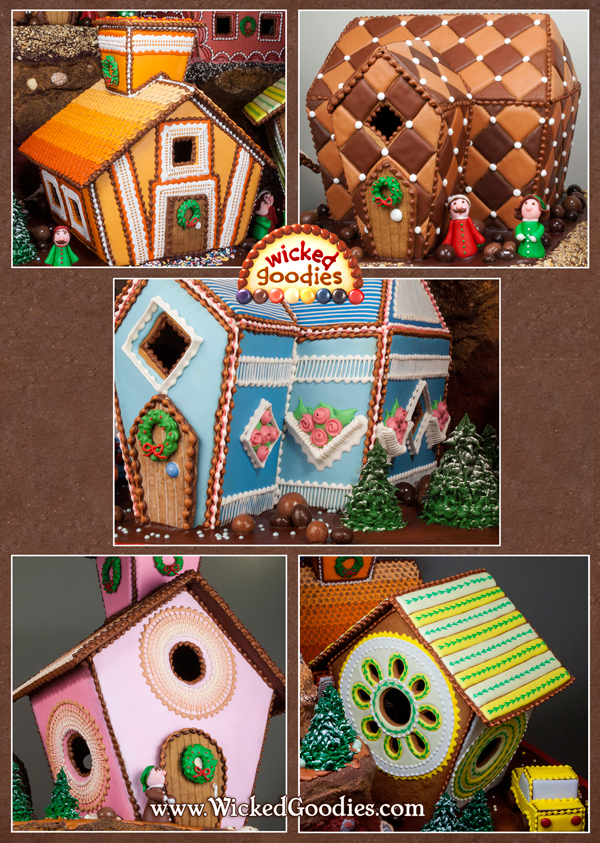 Gingerbread House Recipe and Baking Instructions