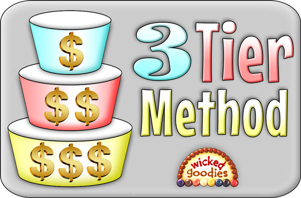 Three Tier Method: A Bakery Sales Trick