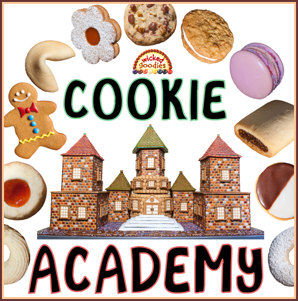 Cookie Academy Gingerbread House