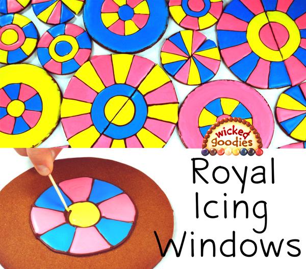Royal Icing Windows