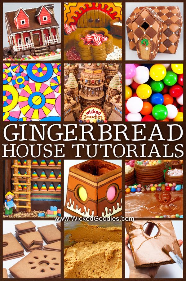 Gingerbread House Tutorials