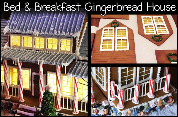 Bed and Breakfast Gingerbread House