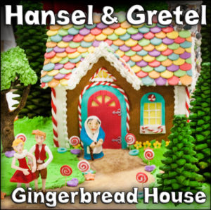 Hansel and Gretel Gingerbread House Made by Rodger and Dobro