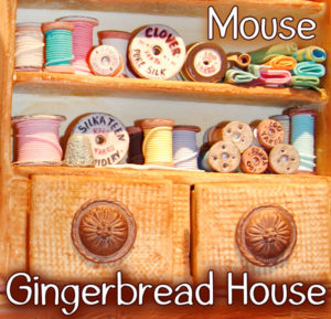 Mouse Gingerbread House