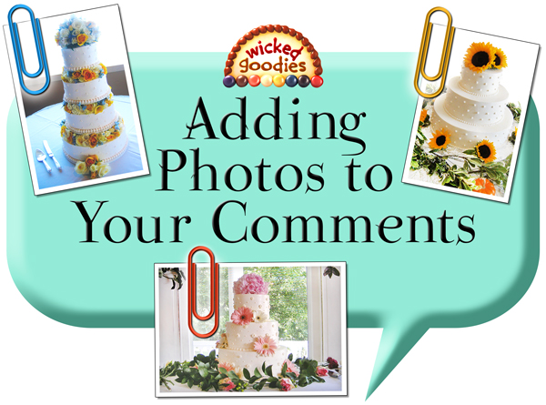 How to Add Photos to Your Comments
