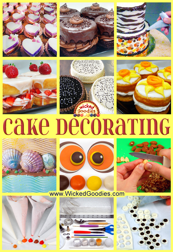 Cake Decorating Ideas and Tutorials